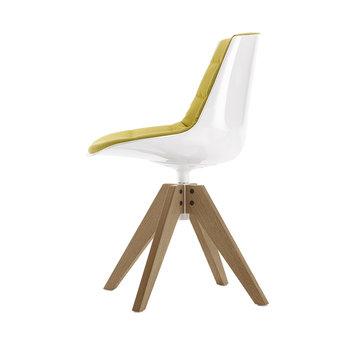 MDF Italia MDF Italia Flow Chair   Padded   VN eiken 4 poots