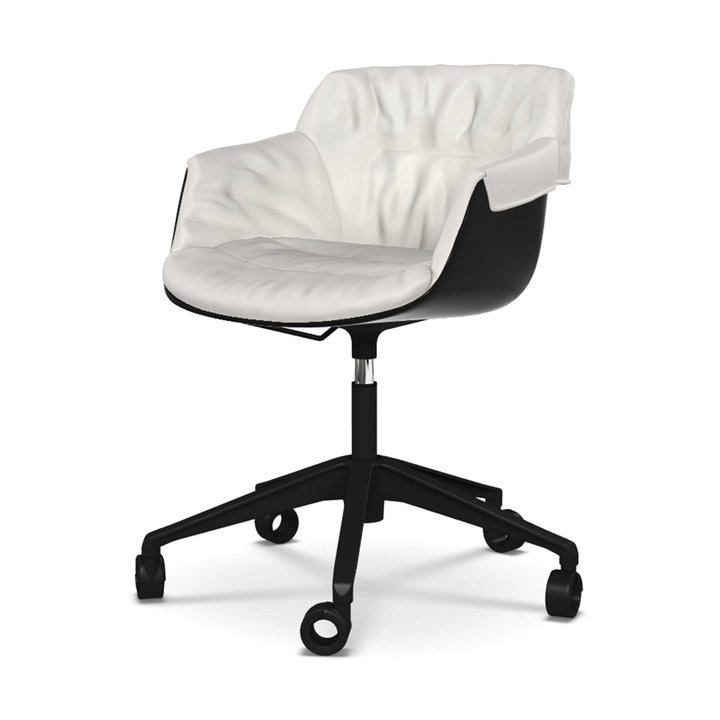 Mdf Italia Flow Slim Padded Xl Office Chair Workbrands