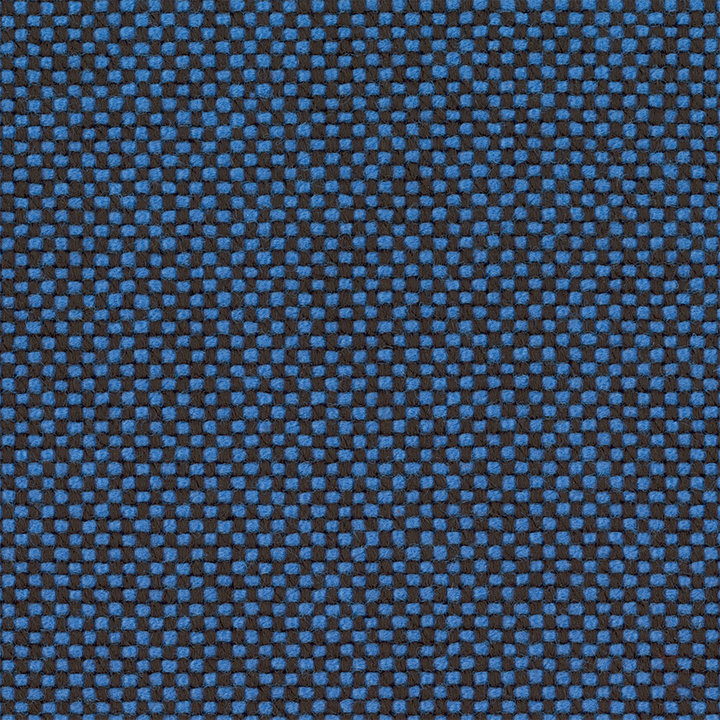 OUTLET | Vitra Organic Chair | Hopsak blauw / moorbraun | Esche schwarz