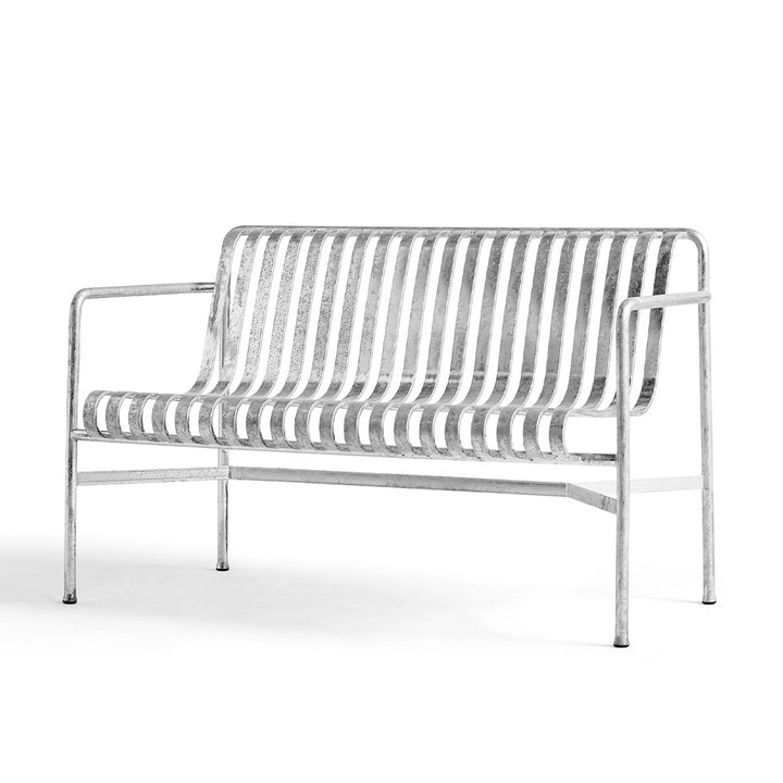 HAY Palissade Dining Bench Hot Galvanised