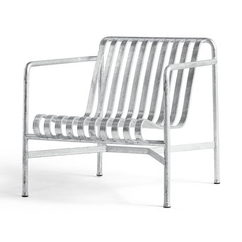 HAY HAY Palissade Lounge Chair Low Hot Galvanised