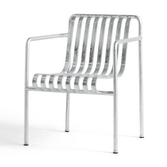 HAY HAY Palissade Dining Armchair Hot Galvanised