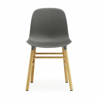 Normann Copenhagen OUTLET | Normann Copenhagen Form Chair Wood | Grau