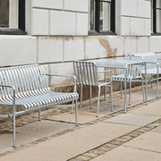 HAY Palissade Lounge Sofa Hot Galvanised