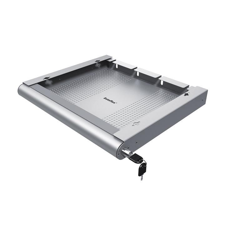 OUTLET | Dataflex Addit laptop security drawer | Silver