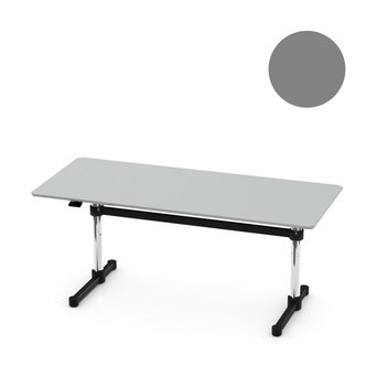 USM OUTLET | USM Kitos M | W 170 x D 75 x H 70 / 115 cm | Laminate mid-grey