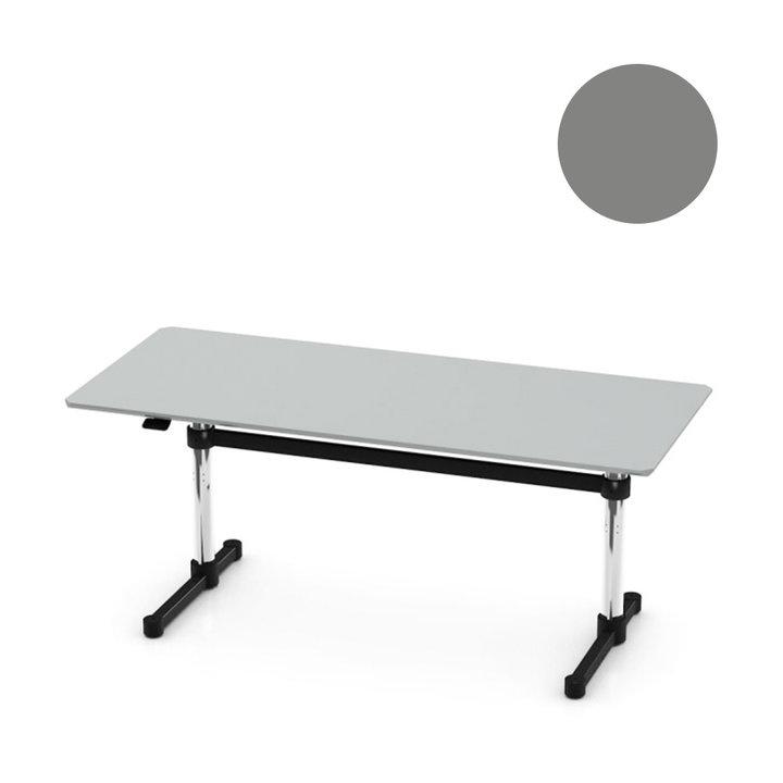 OUTLET | USM Kitos M | B 170 x T 75 x H 70 / 115 cm | Laminat mid-grey
