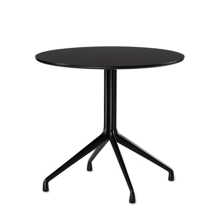 OUTLET | HAY About A Table / AAT 20 | Ø 80 x 73 cm | Zwart