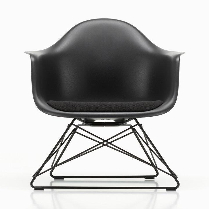 Vitra Eames Plastic Armchair LAR | Zitting bekleed