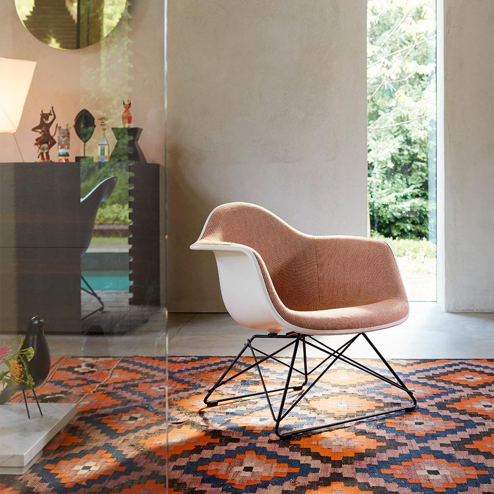 Vitra Eames Plastic Armchair LAR | Full upholstery ...