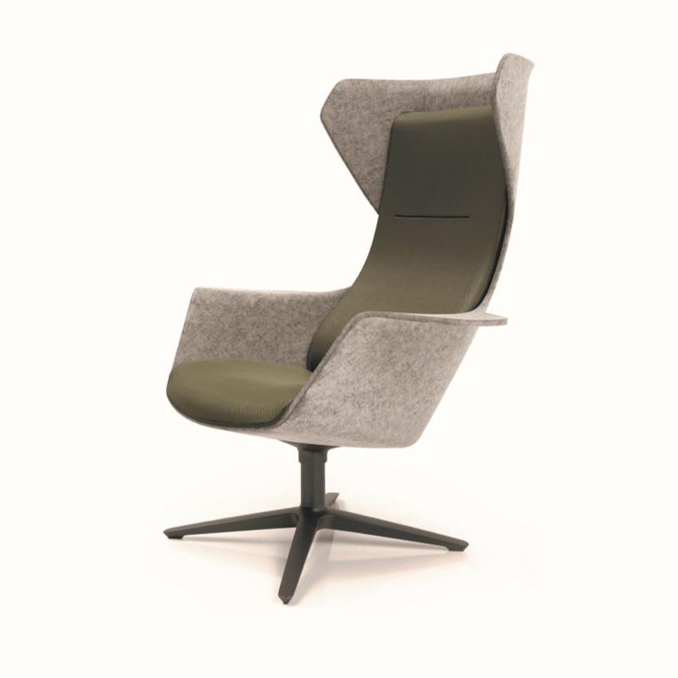 Klöber Wooom Lounge Chair Workbrands