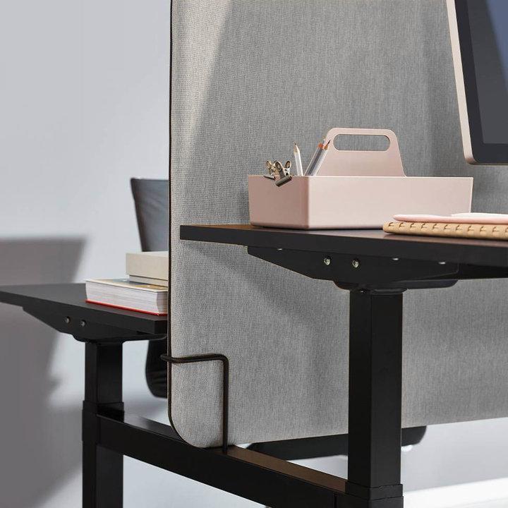 OUTLET | Workbrands Smart scherm | 160 x 65 cm | Nemo NE-10 hellgrau
