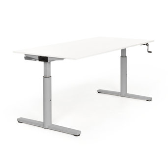 Gispen Refurbished Gispen TM desk | Grey frame