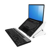 Dataflex Addit laptopstandaard - verstelbaar 45
