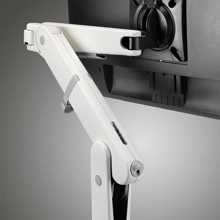 Refurbished CBS Ollin Single monitor arm | White