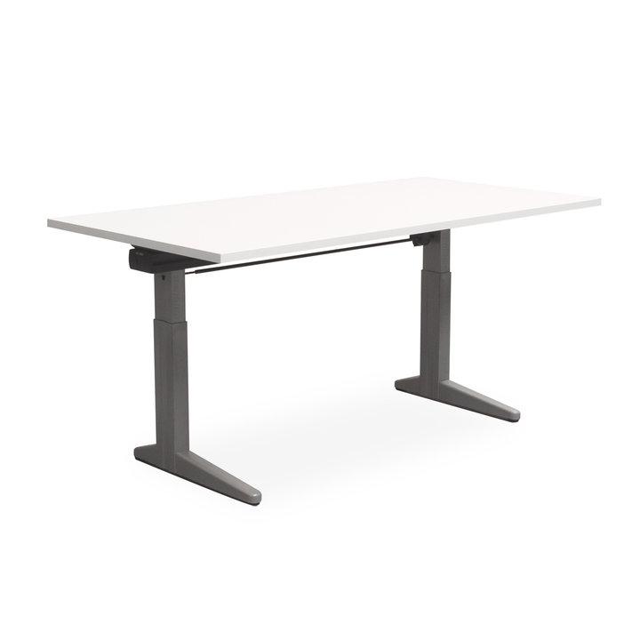 Refurbished Ahrend Essa Schreibtisch | Handkurbel