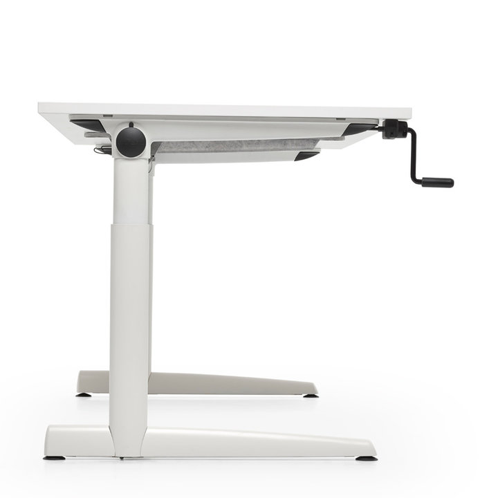 Refurbished Ahrend 500 desk sit / sit workstation
