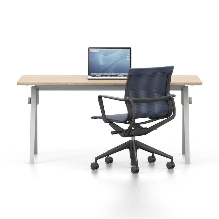Refurbished Vitra Joyn | Single desk | Fixed height