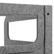 BakkerElkhuizen BE Safety Screen U-Shape | Circular PET vilt