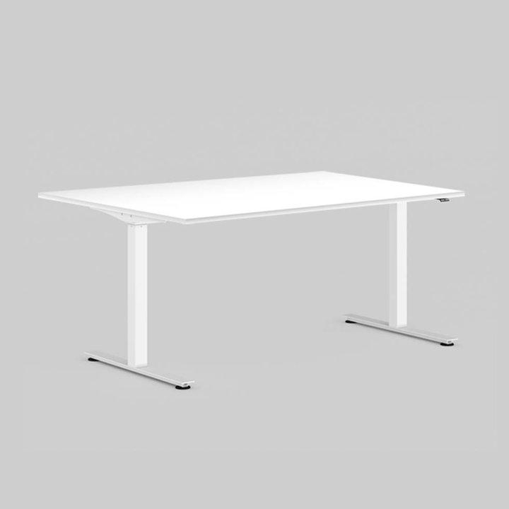 OUTLET | Workbrands E-Smart werkplek | B 160 x D 80 cm | Wit staal