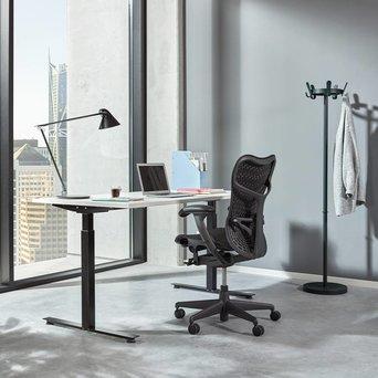 Workbrands Workbrands E-Smart | Steh-Sitz-Einzelarbeitsplatz | Elektrisch verstellbar
