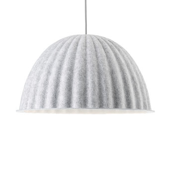 Muuto OUTLET | Muuto Under The Bell | White melange | Ø 55 x H 31 cm