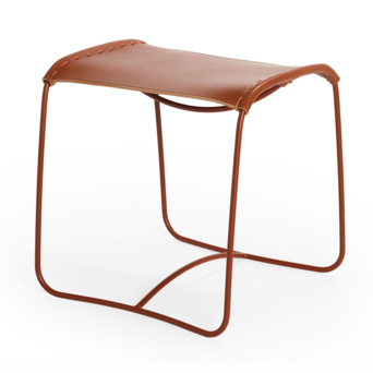 Artifort OUTLET | Artifort Perching stool | Brown leather