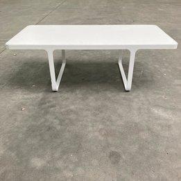 Naughtone RWC | Naughtone Trace Small Table | Weiß holz | Metall | B 110 x T 55 x H 36 cm