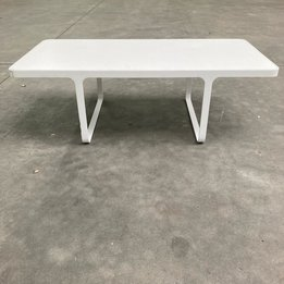 Naughtone RWC | Naughtone Trace Small Table | Wit hout | Metaal | B 110 x D 55 x H 36 cm