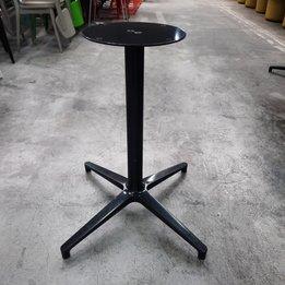 Workbrands RWC | Tischbasis mit Kreuzfuß | Metall | B 54 x T 54 x H 74 cm