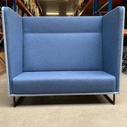 Lande RWC | Lande 1st Class 2-Sitzer | Bezug Blau | Rahmen Metall