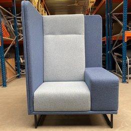 Lande RWC | Lande 1st Class | Blauw / grijs gestoffeerd | Metaal frame