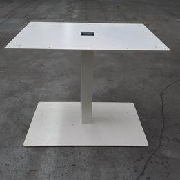 Workbrands RWC | Tischfuß | Weiß | B 90 x T 50 x H 73,5 cm