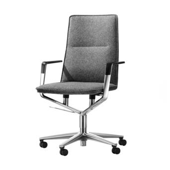 Wilkhahn Wilkhahn Sola Conference Chair 291/71 | Middelhoge rug