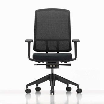 Vitra @Home Vitra AM Chair | Plano nero | LightNet black | 2D armen