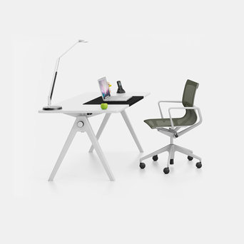Vitra @Home Refurbished Vitra Joyn | Single desk | Height adjustable