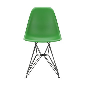 Vitra OUTLET | Vitra Eames Plastic Side Chair DSR | Classic green | Basic dark powder-coated