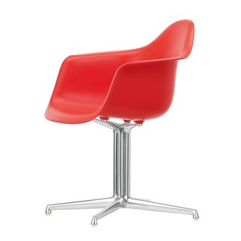 Vitra OUTLET | Vitra Eames Plastic Armchair DAL | Klassiek rood