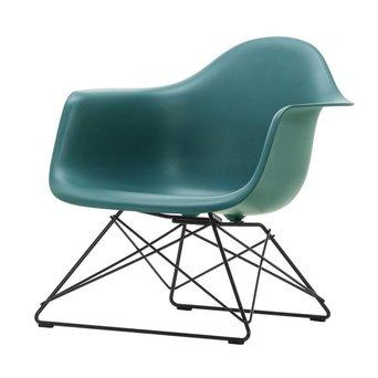 Vitra OUTLET | Vitra Eames Plastic Armchair LAR | Ocean | Basic dark powder-coated