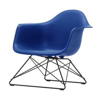 Vitra OUTLET | Vitra Eames Plastic Armchair LAR | Marineblauw | Basic dark poedercoating