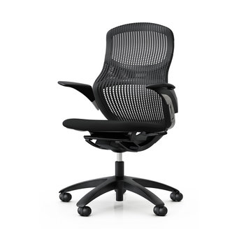 Knoll Refurbished Knoll Generation Task Chair | Lumbar Support | Onyx