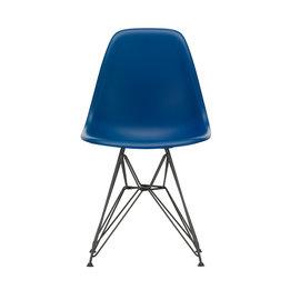 Vitra OUTLET | Vitra Eames Plastic Side Chair DSR | Marineblauw | Basic dark poedercoating