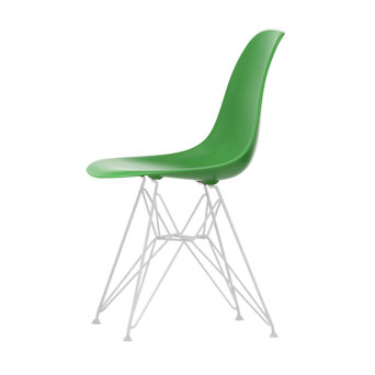 Vitra OUTLET | Vitra Eames Plastic Side Chair DSR | Klassiek groen | Wit poedercoating