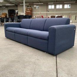 Artifort RWC   Artifort Sofa met armleuningen   Donkerblauw gestoffeerd