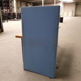 Vepa RWC   Vepa zijscherm   Donkerblauw gestoffeerd   B 40 x D 5 x H 75 cm