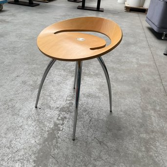 Cappellini RWC | Lyra Magis kruk | Zitting hout | 4-poots staal