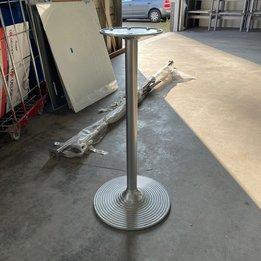 Workbrands RWC   Rond statafelonderstel   Staal   Trompetvoet   Ø 50 x H 105 cm
