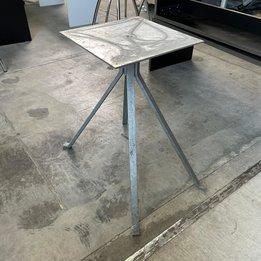 Workbrands RWC   Tafelonderstel   Grijs   Kruisvoet staal   B 46 x D 73 x H 71 cm