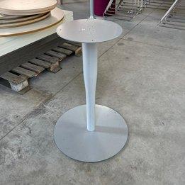 Workbrands RWC   Rond tafelonderstel   Grijs   Schijfvoet staal   Ø 52 x H 73 cm