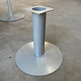 Workbrands RWC   Rond tafelonderstel   Grijs   Schijfvoet staal   Ø 45 x H 43 cm
